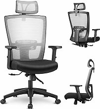 mfavour Ergonomic Office Chair Mesh Chair with