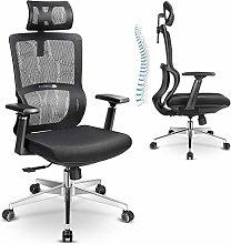 mfavour Ergonomic Office Chair with Elastic Lumbar