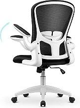 mfavour Ergonomic Office Desk Chair with Flip-up