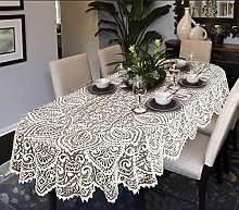 MforStyle Lace Large Tablecloth Oval OR Round