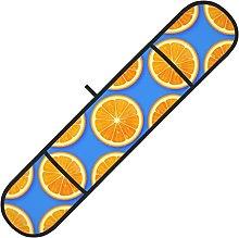 MGCEDLTD Fresh Orange Fruit Double Oven Gloves,