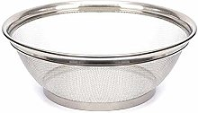 MGE - Stainless Steel Fine Mesh Strainer Bowl -