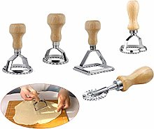 MGGi 5 Set Ravioli Stamp Cutter,Large Round,Small