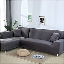 MGGZ Plain Corner Sofa Covers for Living Room