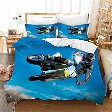 MGQSS 4 Piece Kids Boys Girls Bedding Blue Sky
