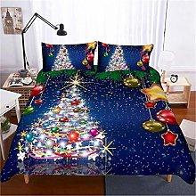MGQSS 4 Piece Kids Boys Girls Bedding Blue Starry