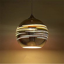 MGWA chandelier Brown 3D Stained Glass Ball