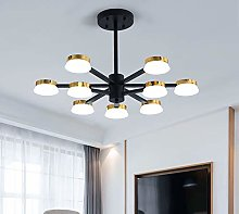 MGWA chandelier Personality LED Pie Shape 9