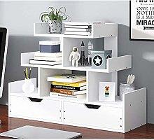 MHBGX Bookshelf,Desk Top Organization