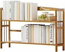MHBGX Bookshelf,Desktop Bookshelf Storage Cabinet