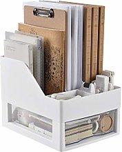 MHBGX Bookshelf,Desktop Creative Bookshelf Desktop