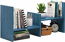 MHBGX Bookshelf,Office Desk Storage Shelf Simple
