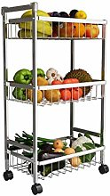 MHBGX Multifunction Portable Hand Trucks,3 Tier