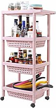 MHBGX Multifunction Portable Hand Trucks,4-Tier