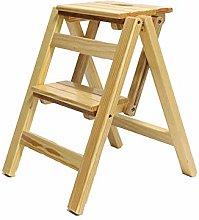 MHBGX Step Stool,Folding 2 Steps Ladder Dual-Use