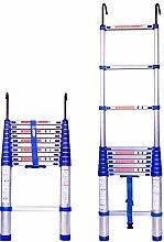 MHBGX Telescopic Ladder,Household Ladder,Aluminum