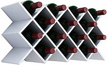 MHBGX Wine Rack,Conventional Lattice Diamond Wall