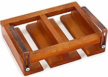 MHBGX Wine Rack,Nailless Solid Wood Hanging Glass