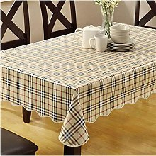 MHCY Pvc Tablecloth Plastic Waterproof And