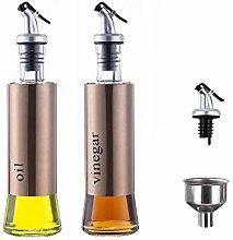 MHtech Olive Oil and Vinegar Dispenser Bottle Set,