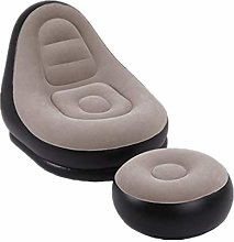 MHUI Inflatable Leisure Sofa Chair and Footstool