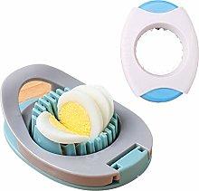 MHwan Egg Cutter Topper, Egg Slicer Metal,