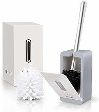 Mhwlai Toilet brush set, automatic sealing cover,