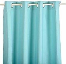 Mi Casa Green Water, Plain Curtain 140 x 260 cm