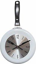MIAOJI Wall Clock, Wall Clock Metal Frying Pan