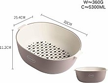 MiaoMiao Kitchen Drainer, Double Layer Sink