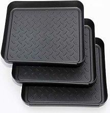 MIAOQI Boot Tray 3pcs Garden Mat Feeding Pet Tool