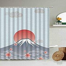 MIASDUANFA Shower curtainJapanese Dream Cherry