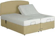 MiBed Lerwick Adjustable Kingsize Bed with Memory Mattress