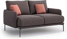 Michael 2 Seater Sofa Hykkon Upholstery Colour:
