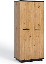 Michaels 2 Door Wardrobe Union Rustic