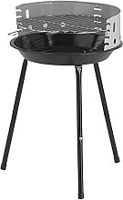 MICHELINO Alex BBQ Stand Grill for Charcoal Round