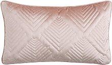 Michelle Keegan Home Pink Velvet Cushion