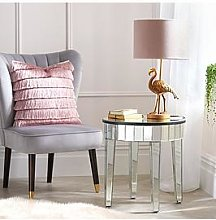 Michelle Keegan Home Vegas Mirrored Occasional