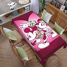 Mickey Cartoon Mouse Minnie 59 Inches X 107.9
