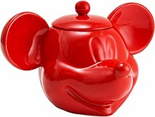 Mickey Mouse 3D Cookie Jar, Red