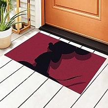 Mickey Mouse Door Mat Outdoor Indoor-23.6 X 15.7
