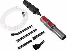 Micro Vacuum Accessory, 9Pcs Mini Plastic Durable