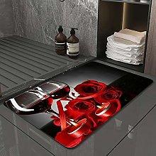 Microfiber Bath Rug Absorbent Bathroom Mats