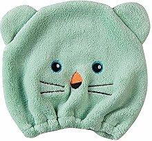 Microfiber Bath Towel Hat Hair Quick Drying Towel