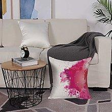 Microfiber cushion cover 50x50