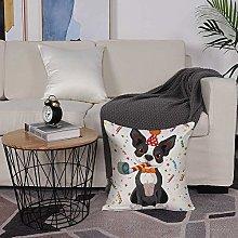 Microfiber cushion cover 50x50 cm,Birthday