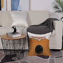 Microfiber cushion cover 50x50 cm,Bowling Party
