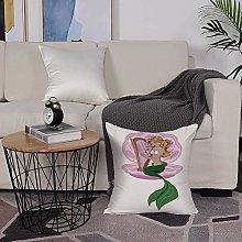Microfiber cushion cover 50x50 cm,Mermaid,Little