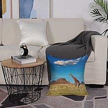 Microfiber cushion cover 50x50 cm,Safari