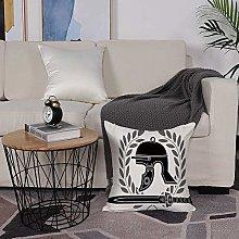 Microfiber cushion cover 50x50 cm,Toga Party,Roman